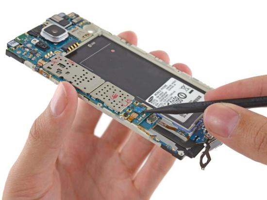 Samsung A7 bi sap nguon