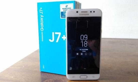 Samsung J7 Plus bị loi cam ung