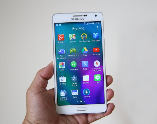 Samsung A7 liet cam ung