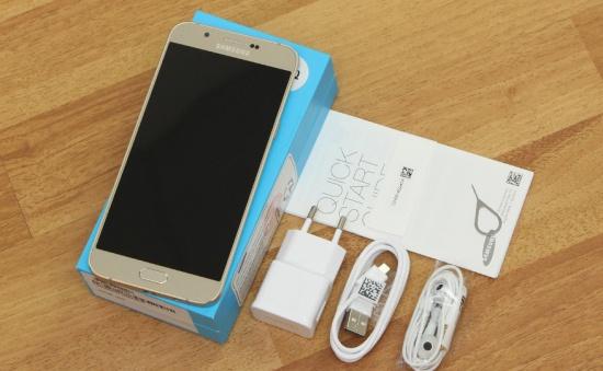 Samsung A8 bi sap nguon