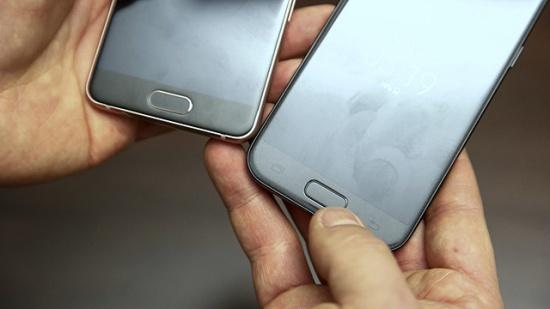 Samsung A3 bị đen màn hình