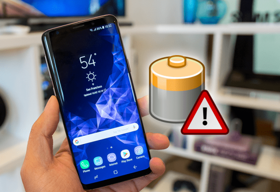 Samsung S9 Plus bị lỗi pin ảo
