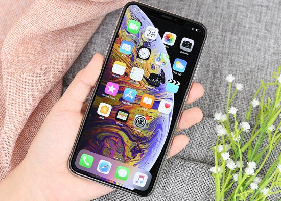 iphone xs max do man hinh