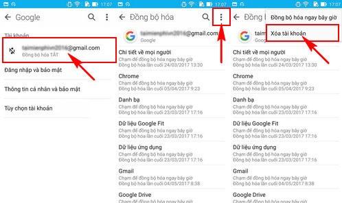 dang xuat samsung s8 qua ung dung gmail 1
