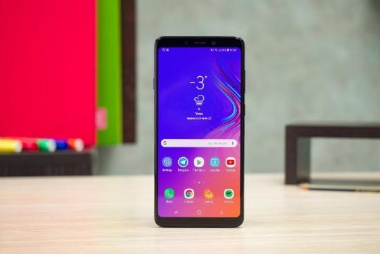 Thay mat kinh Samsung A9 2018