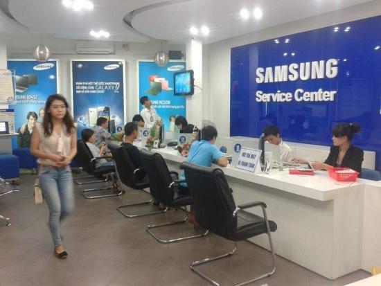 trung tâm bảo hành của Samsung