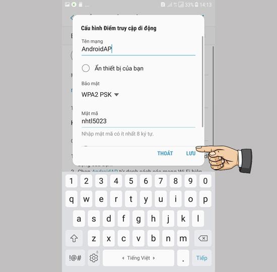 cách phát Wifi từ Samsung J7 Pro