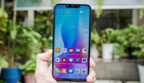 Huawei Nova 3i bị loạn cảm ứng