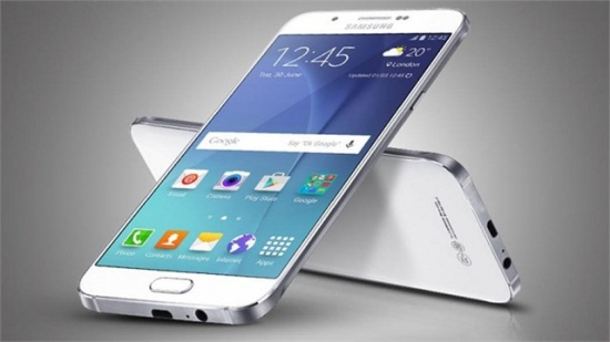 Samsung A8 bi den man hinh