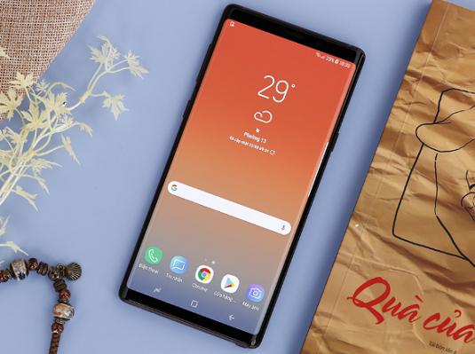 Ghi âm cuộc gọi trên Samsung Note 9