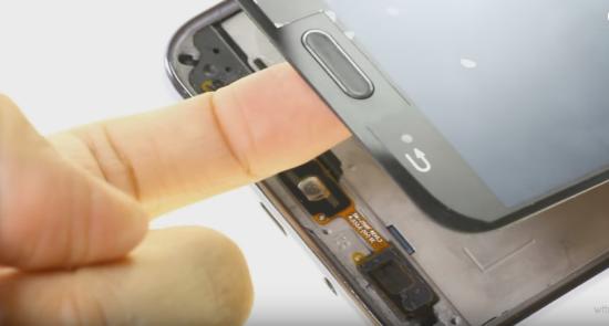 Nút Home Samsung J7 Prime bị liệt