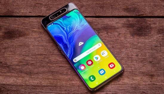 thay mat kinh Samsung A80