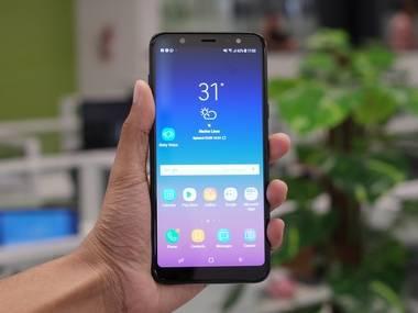 Samsung A6 Plus sọc màn hình, dấu hiệu và nguyên nhân