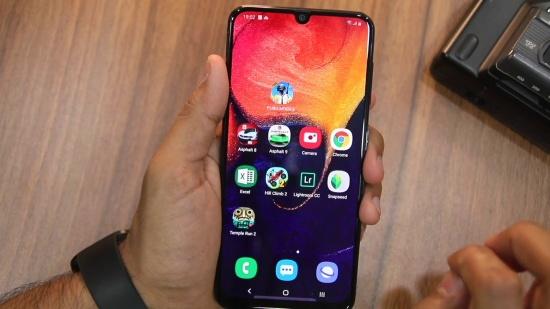 cách ẩn ứng dụng trên Samsung A50