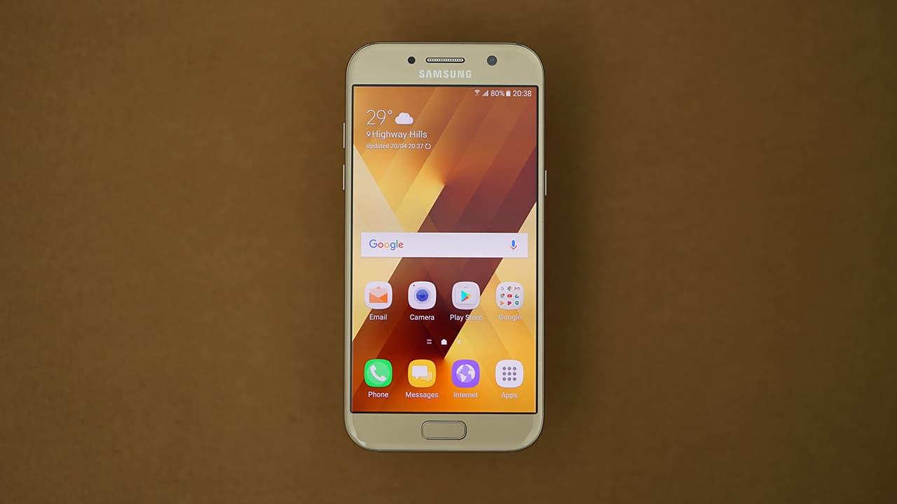 mặt kính Samsung A5 2017 bị trầy xước