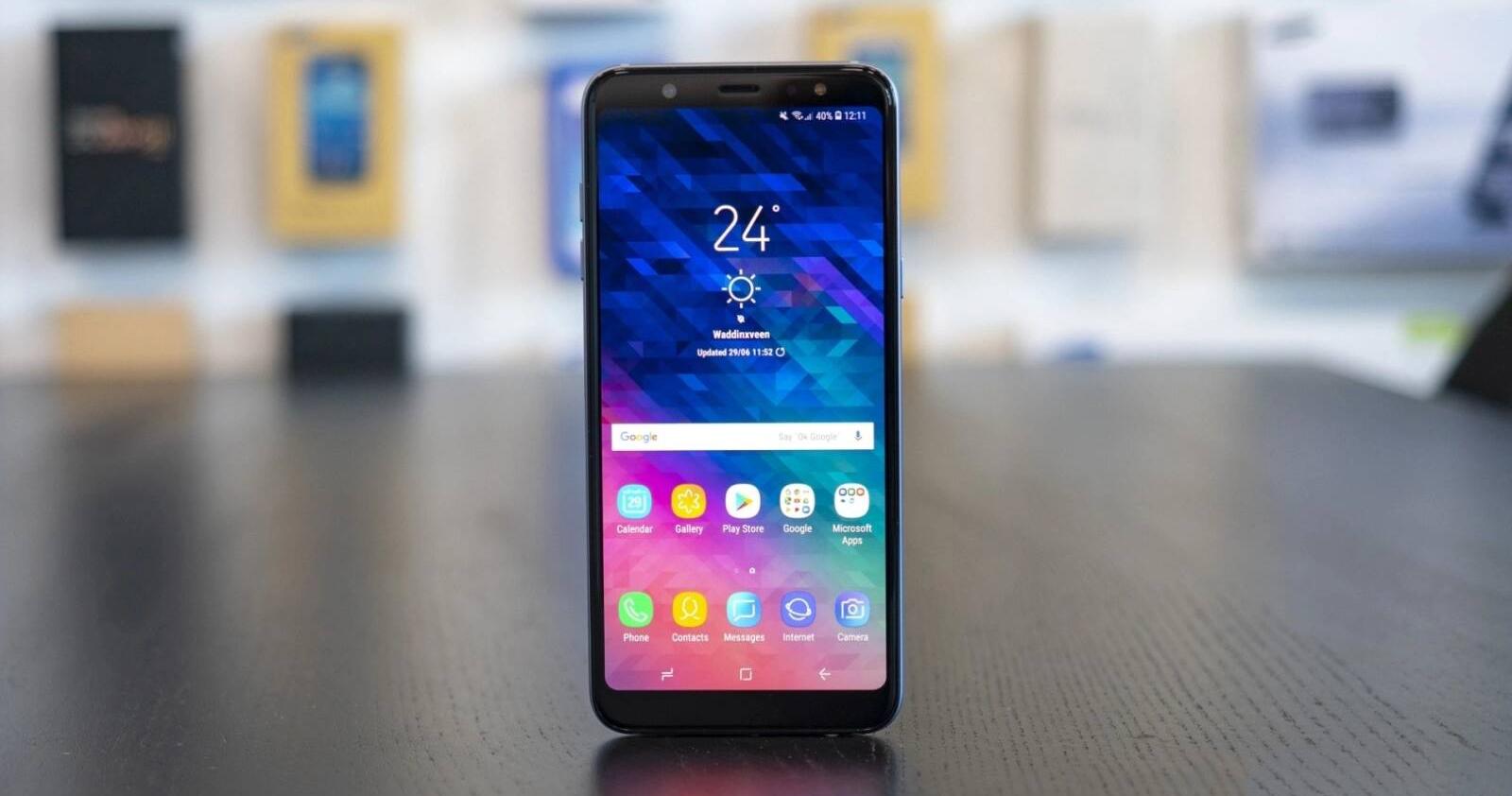 Thủ thuật khắc phục Samsung A6 Plus sọc màn hình hiệu quả