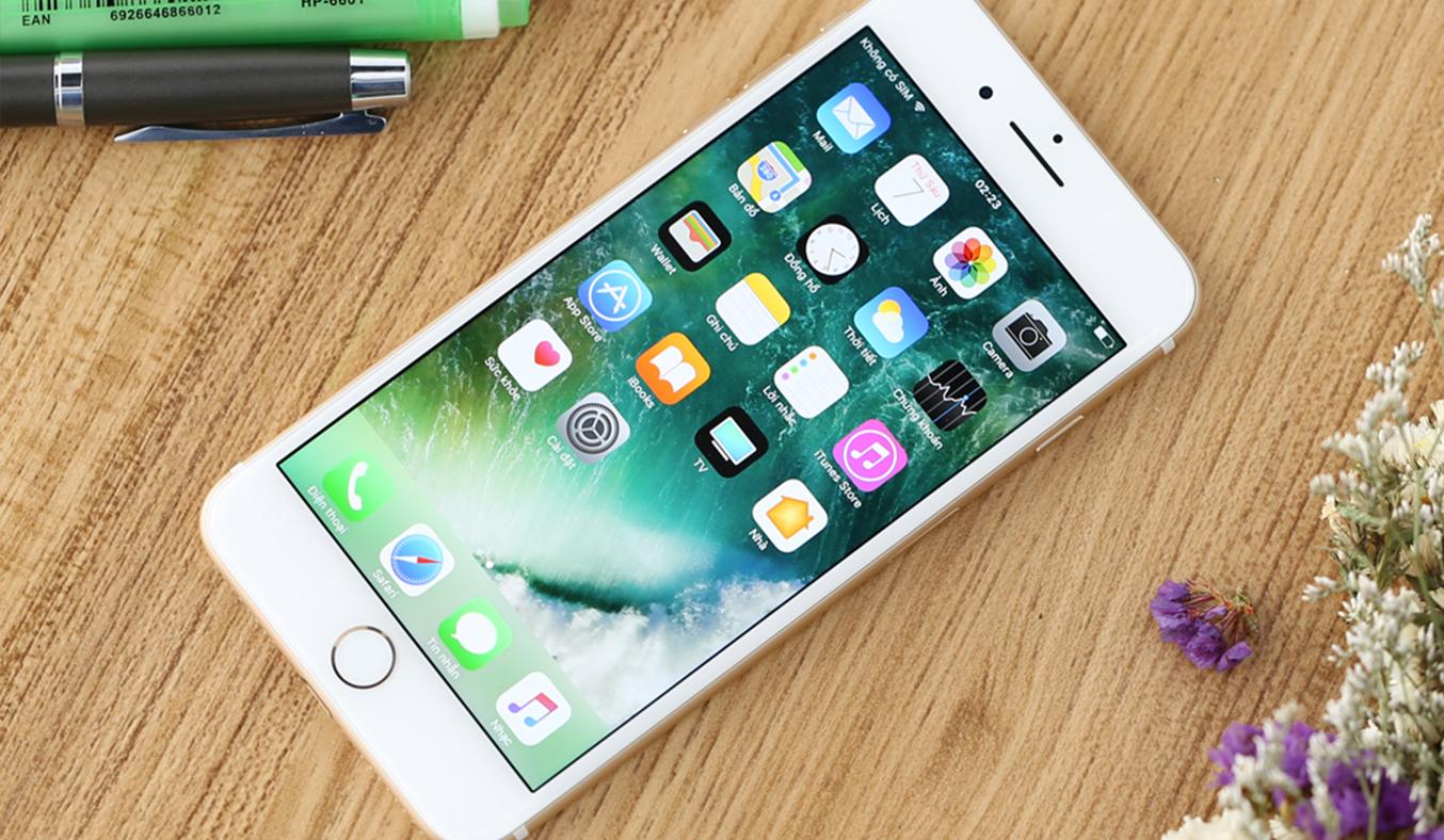 iPhone 7 Plus lỗi pin ảo