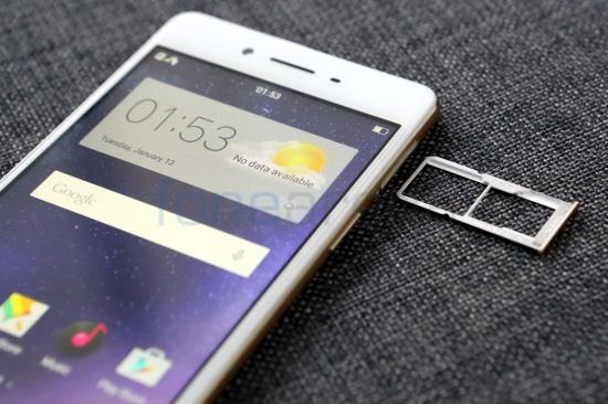điện thoại Oppo không nhận thẻ nhớ