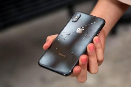 iPhone Xs Max bi mat nguon