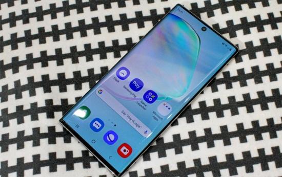 Làm gì khi màn hình Samsung Note 10 bị chảy mực?