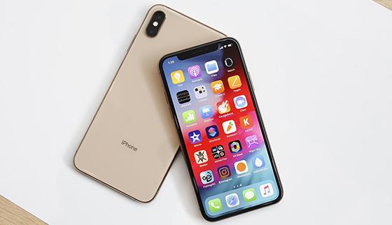iphone xs max bi treo logo