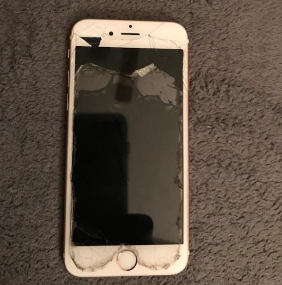 man hinh iPhone 6 bi nhay lien tuc