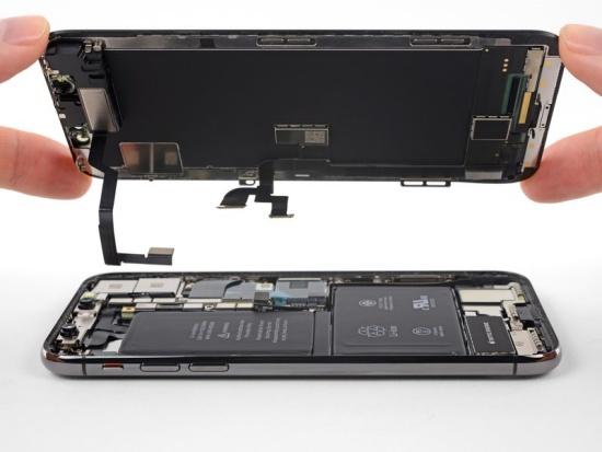 thay IC cảm ứng iPhone X