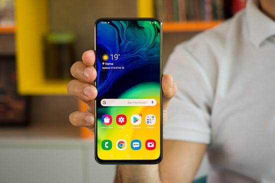 Samsung A80 sọc màn hình