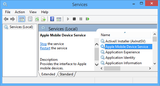 loi apple mobile device support