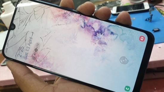 Samsung A50 lỗi vân tay