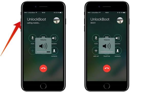 cách chỉnh âm lượng cuộc gọi iPhone 7 Plus