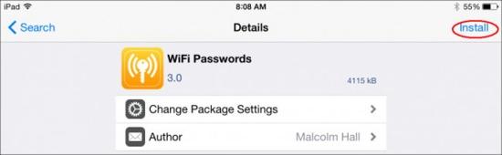 cách xem mật khẩu Wifi đã lưu trên iPhone