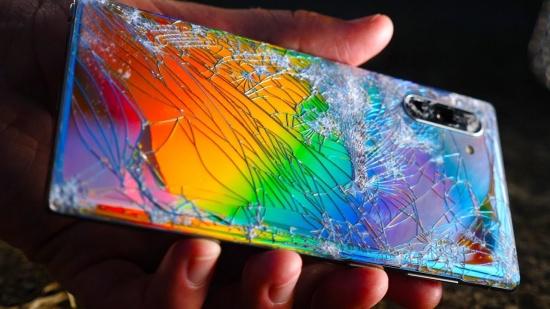 Samsung Note 10 bi dom man hinh