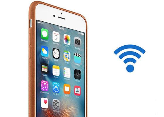 cach bat wifi khong can mat khau cho iphone