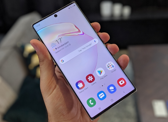 samsung note 10 vo mat kinh co can thay man hinh