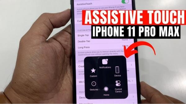 cách bật nút Home ảo trên iPhone 11 Pro Max