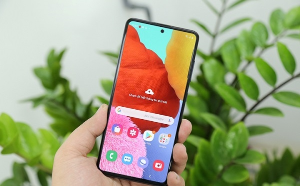 thay man hinh Samsung A51