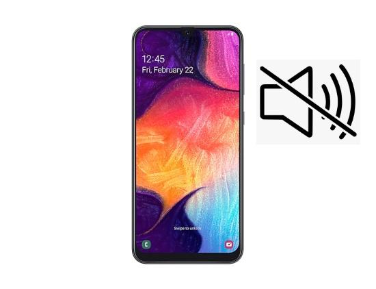 Samsung A50 bi mat am thanh