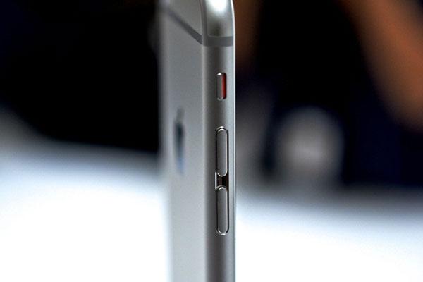 bật chế độ im lặng cho iPhone 6