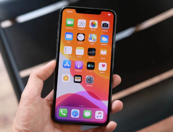 iphone 11 pro max bi mat song