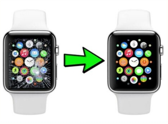thay mat kinh Apple Watch Series 2