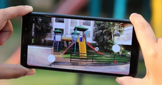 thay camera Samsung A7 2018