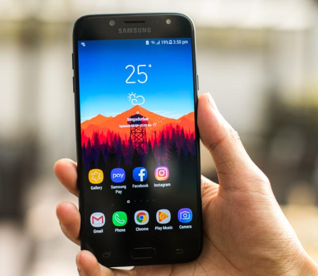 thay màn hình Samsung j7 Pro chất lượng