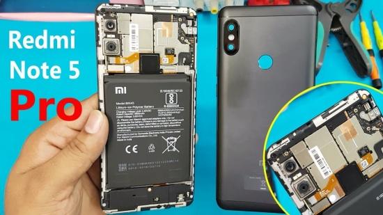 thay pin Xiaomi Redmi Note 5
