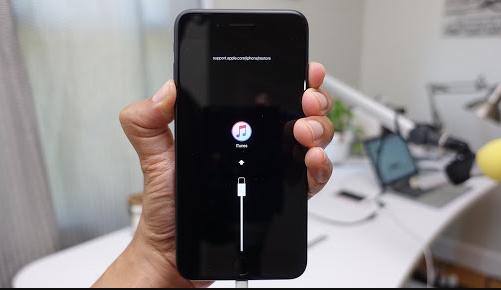 iPhone 7 Plus bị treo logo