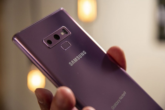 sua van tay Samsung Note 9