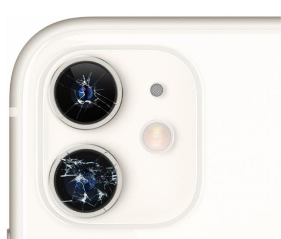 thay kinh camera iPhone 11