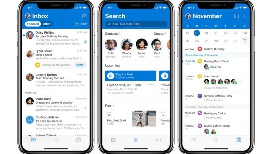 iPhone khong tu push Email