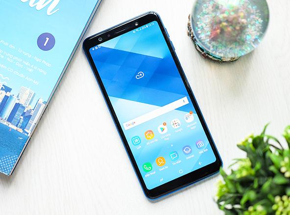 Thay nút nguồn Samsung A7 2018 chất lượng tại Fastcare