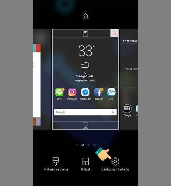 Cách đưa ứng dụng ra màn hình